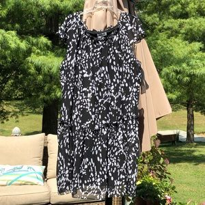 Shelby & Palmer black white dress size 22W